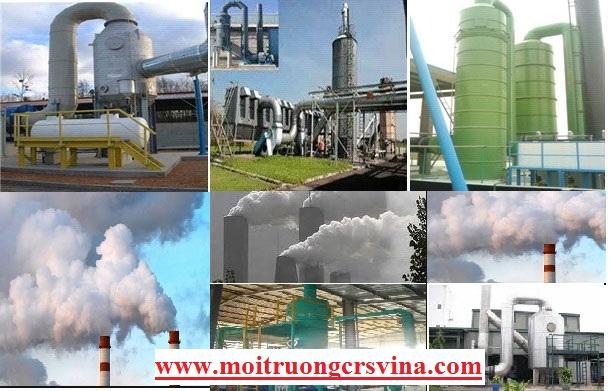 Hệ thống xử lý khí thải tại Bắc Ninh