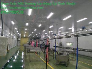 Quan trắc môi trường lao động tại Ninh Thuận