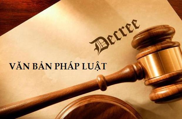 văn bản pháp luật môi trường