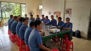 Trung tâm huấn luyện an toàn lao động tại Điện Biên